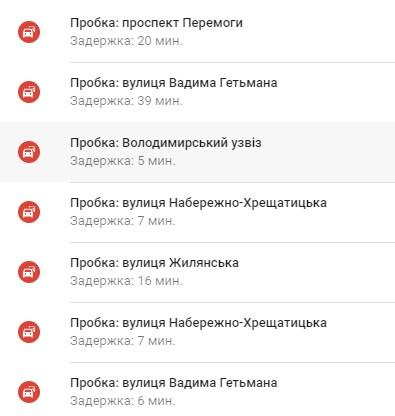 По состоянию на 09:00 пробки в столице достигли 9 баллов