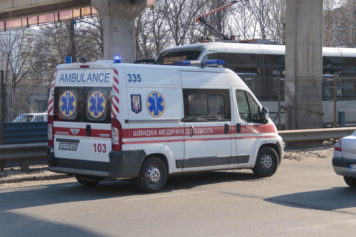 На месте работают экипажи патрульной полиции