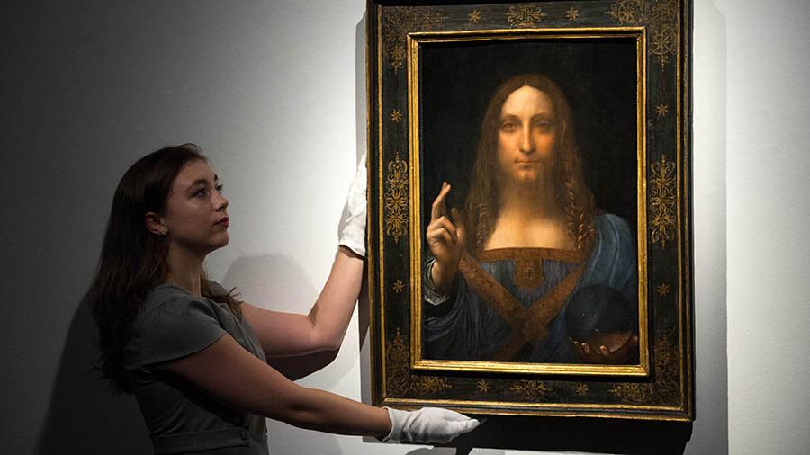 """Самая дорогая в мире картина """"Спаситель мира"""" Леонардо да Винчи может оказаться подделкой"""