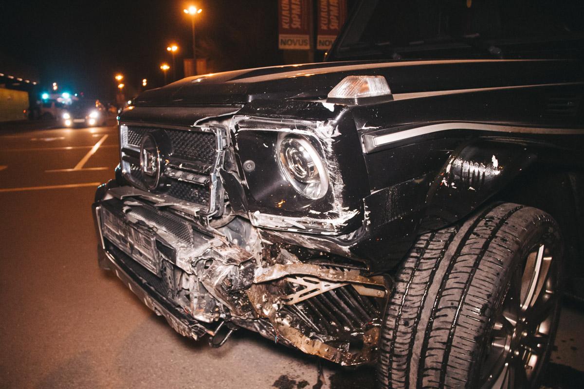 По словам полиции, в этот же вечер он устроил еще одну аварию