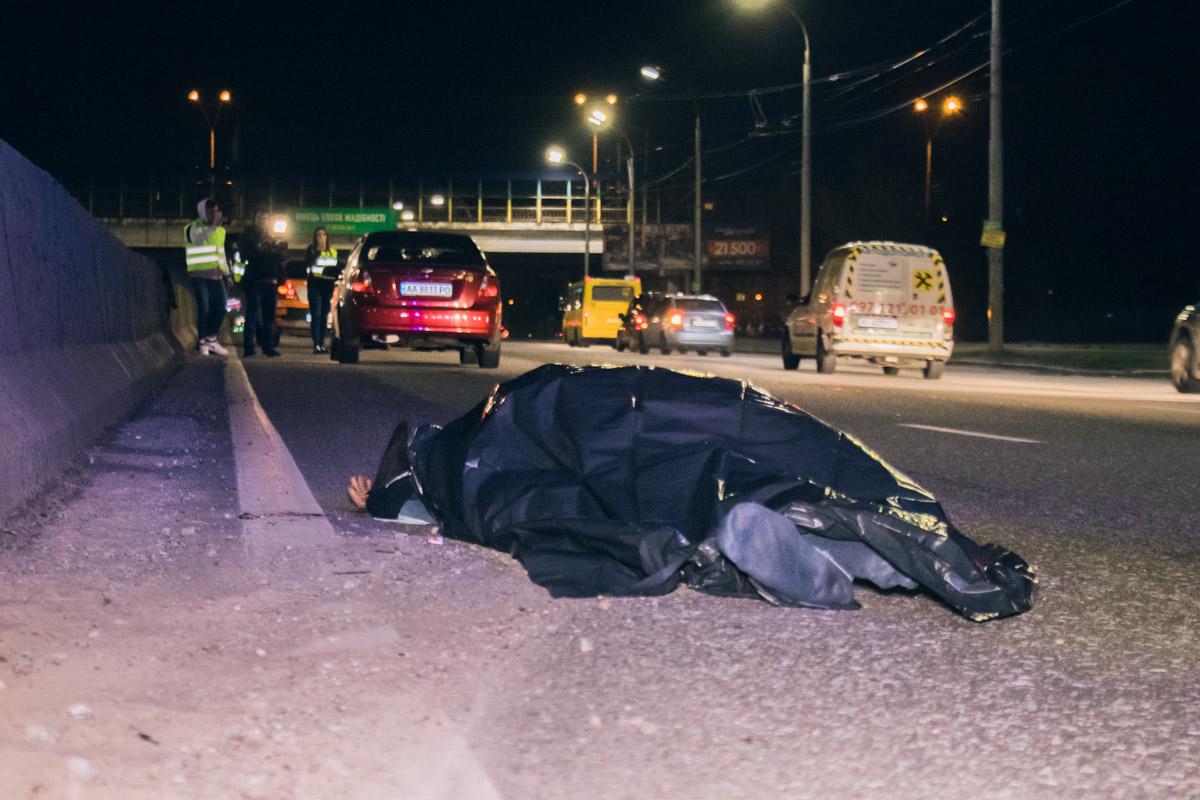 Chevrolet насмерть сбил мужчину