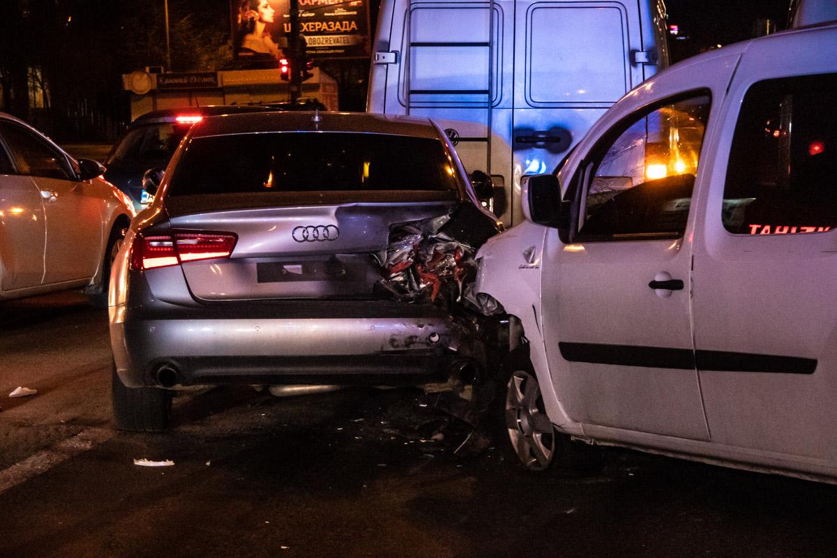Водитель Audi от госпитализации отказался