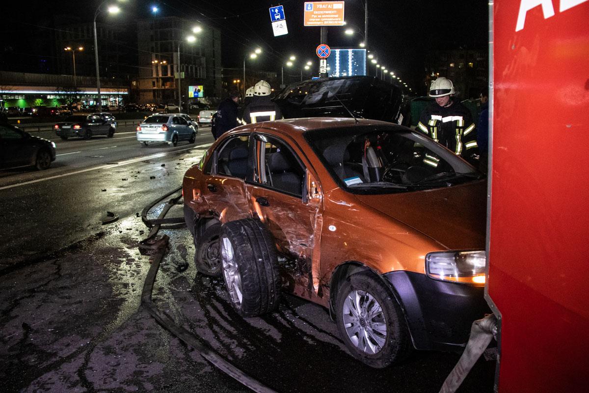 Водитель Chevrolet не пострадал