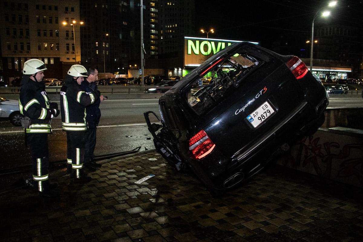 Водителя разыскивает полиция