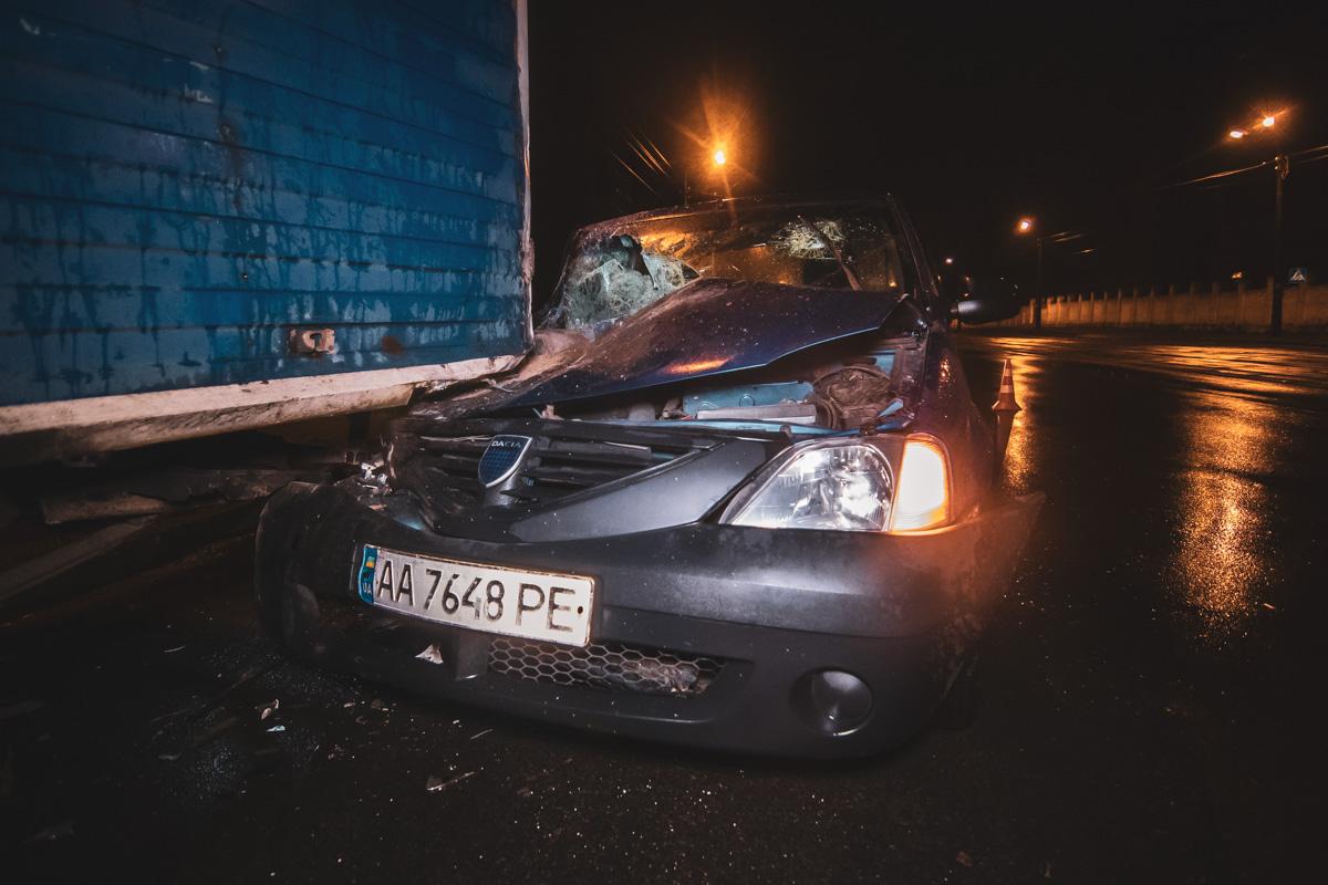 В среду, 17 апреля, на улице Бориспольской произошло ДТП