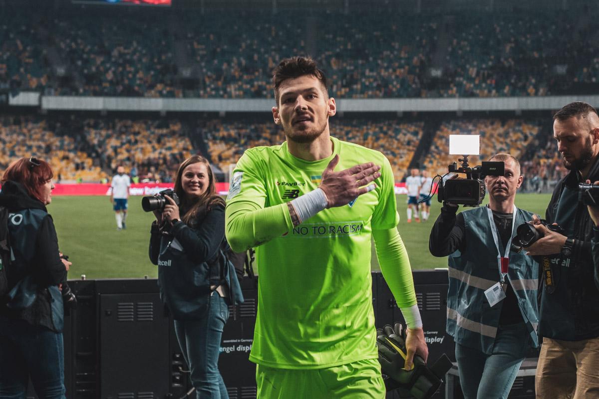Герой последних минут матча благодарит болельщиков за поддержку