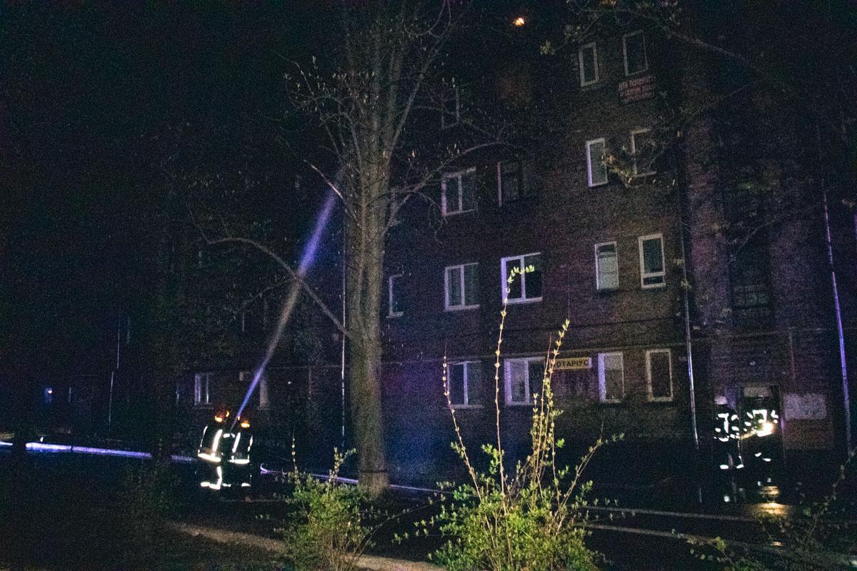 С огнем боролись полсотни спасателей