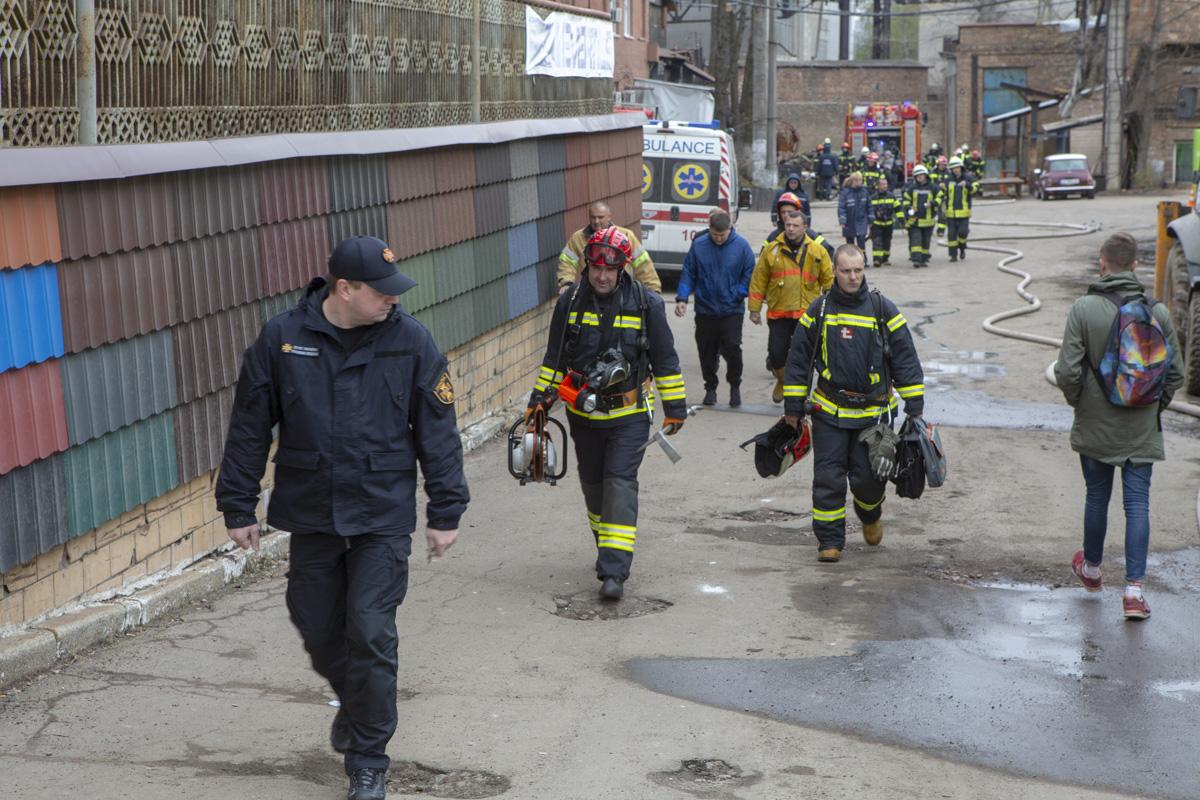 Пожар ликвидировали несколько десятков спасателей
