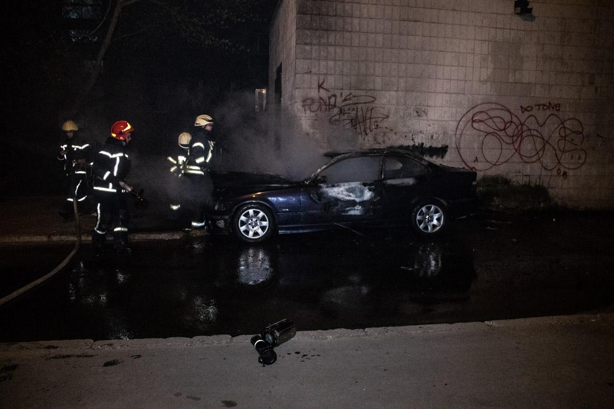 В Шевченковском районе Киева по адресу улица Юрия Ильенко, 7 произошел пожар