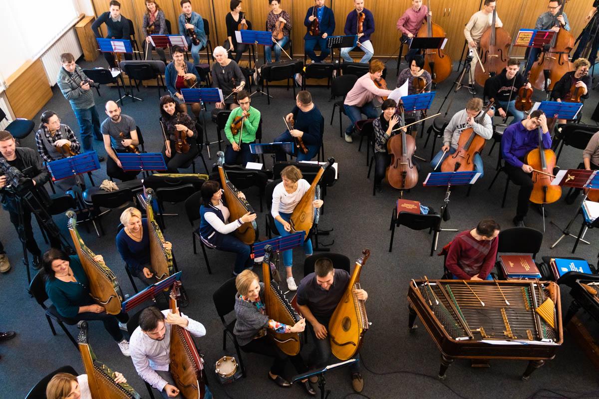 В Киеве оркестр НАОНИ вместе со звездами оперы и шоу-бизнеса провел открытую репетицию