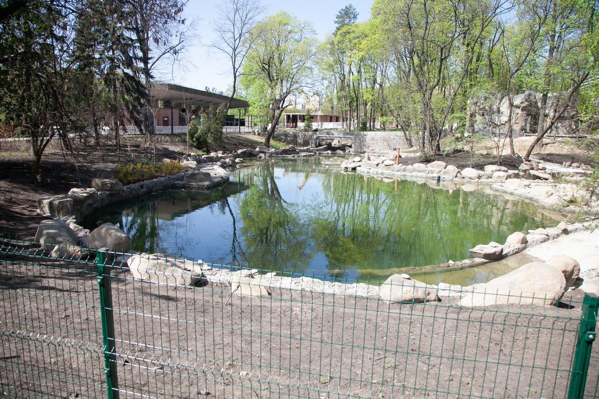 Озера возле входа - это далеко не все объекты, которые должны появиться в зоопарке в ходе работ первой очереди