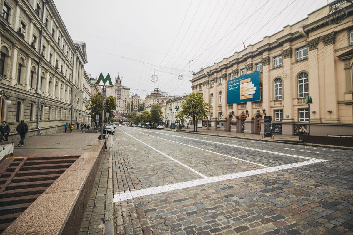 Тем не менее, даже несмотря на непогоду, людей на улицах явно больше, чем было в прошлые два дня