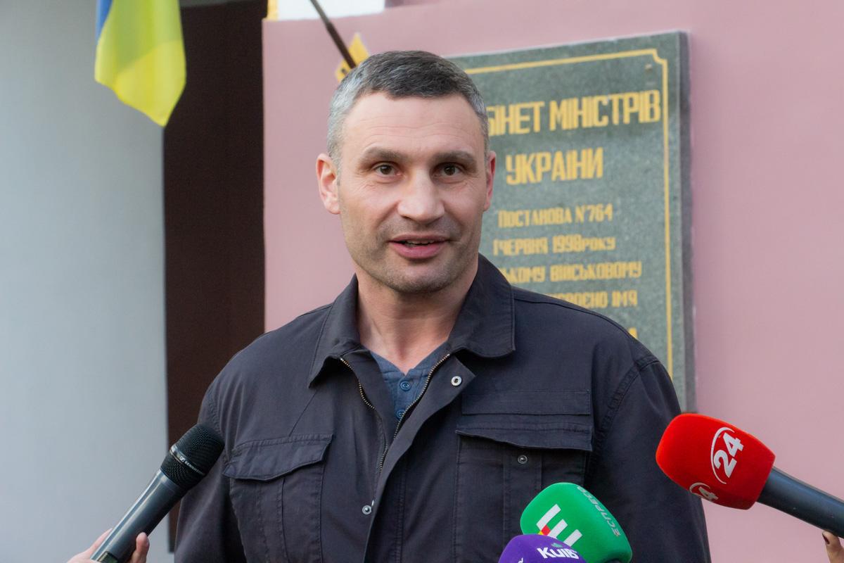Также мэр Киева ответил на вопросы СМИ о голосовании