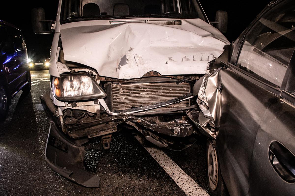 Из-за аварии пострадал водитель Lanos