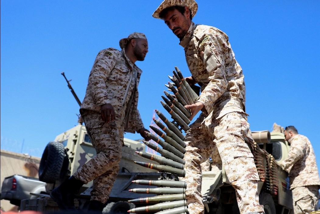 """Совсем недавно конфликт в Ливии вновь перешел в """"горячую фазу"""""""