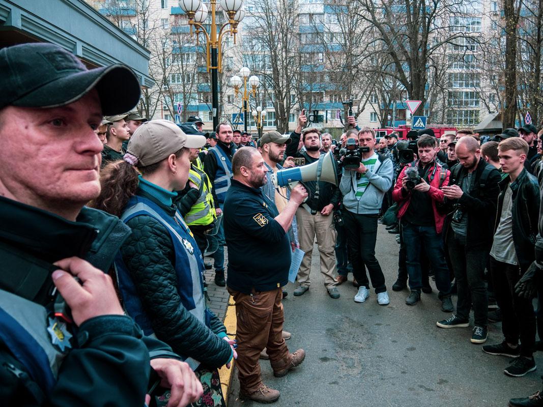 Всего на митинг собралось около 120-150 человек