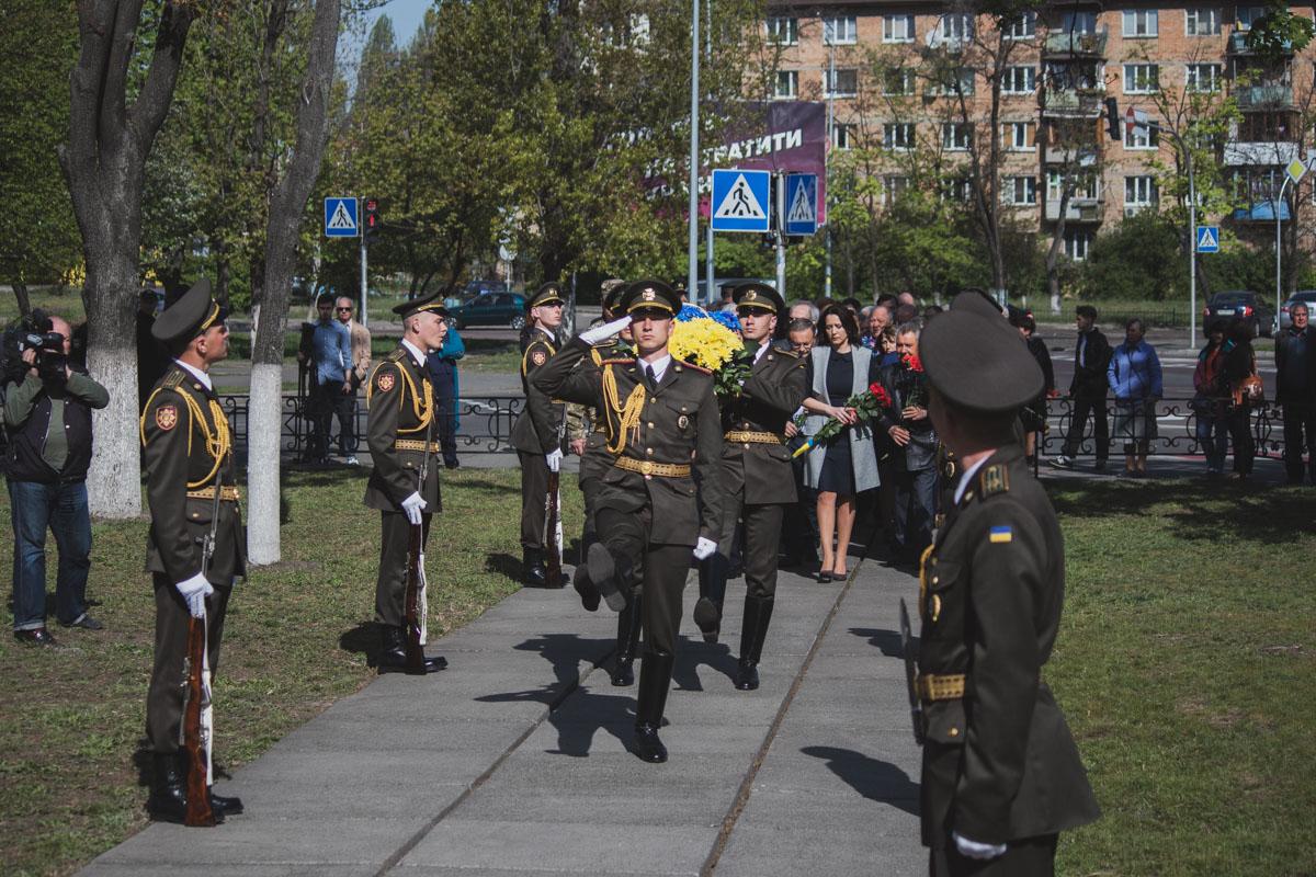 В мероприятии приняло участие много военнослужащих