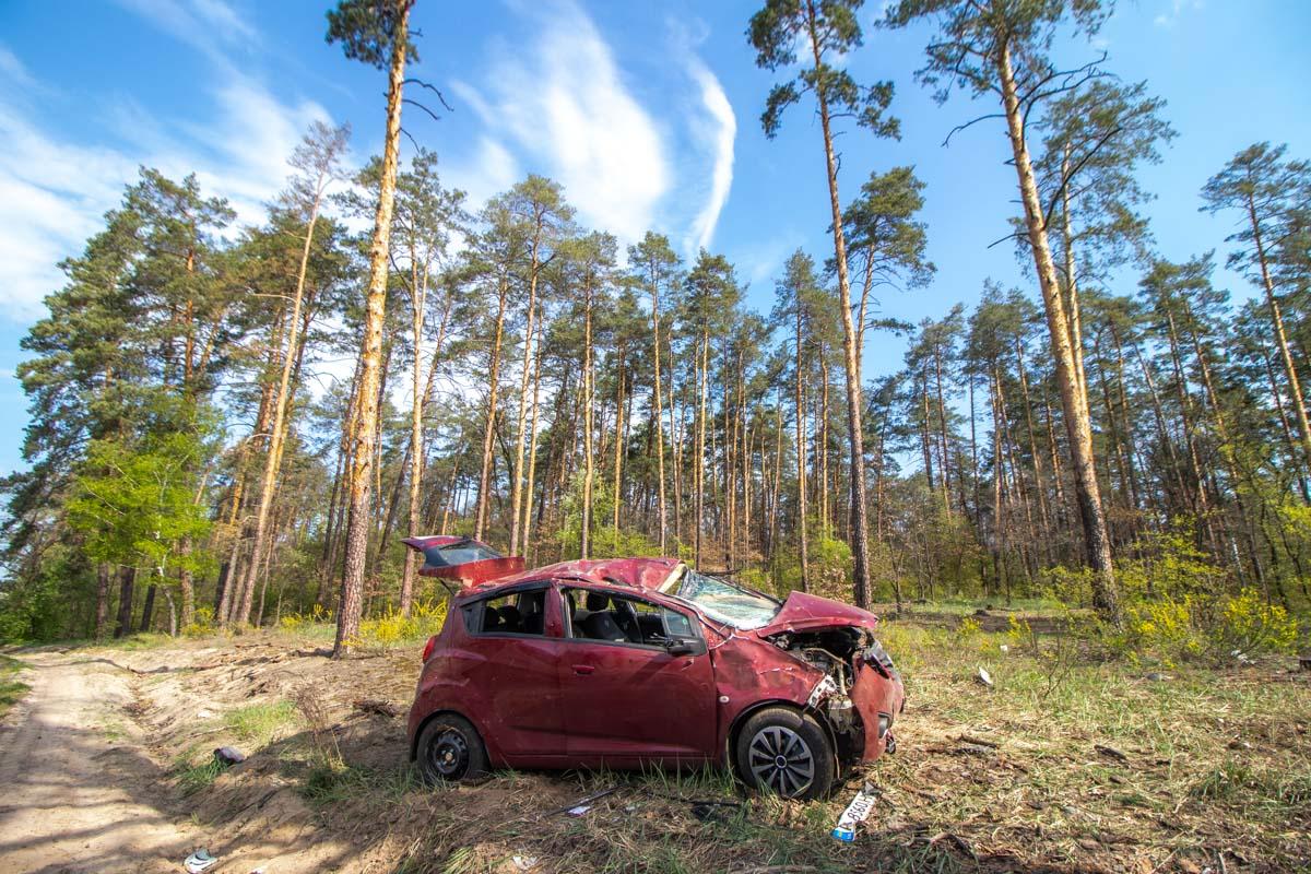 27 апреля под Киевом на Гостомельском шоссе произошло ДТП с пострадавшими