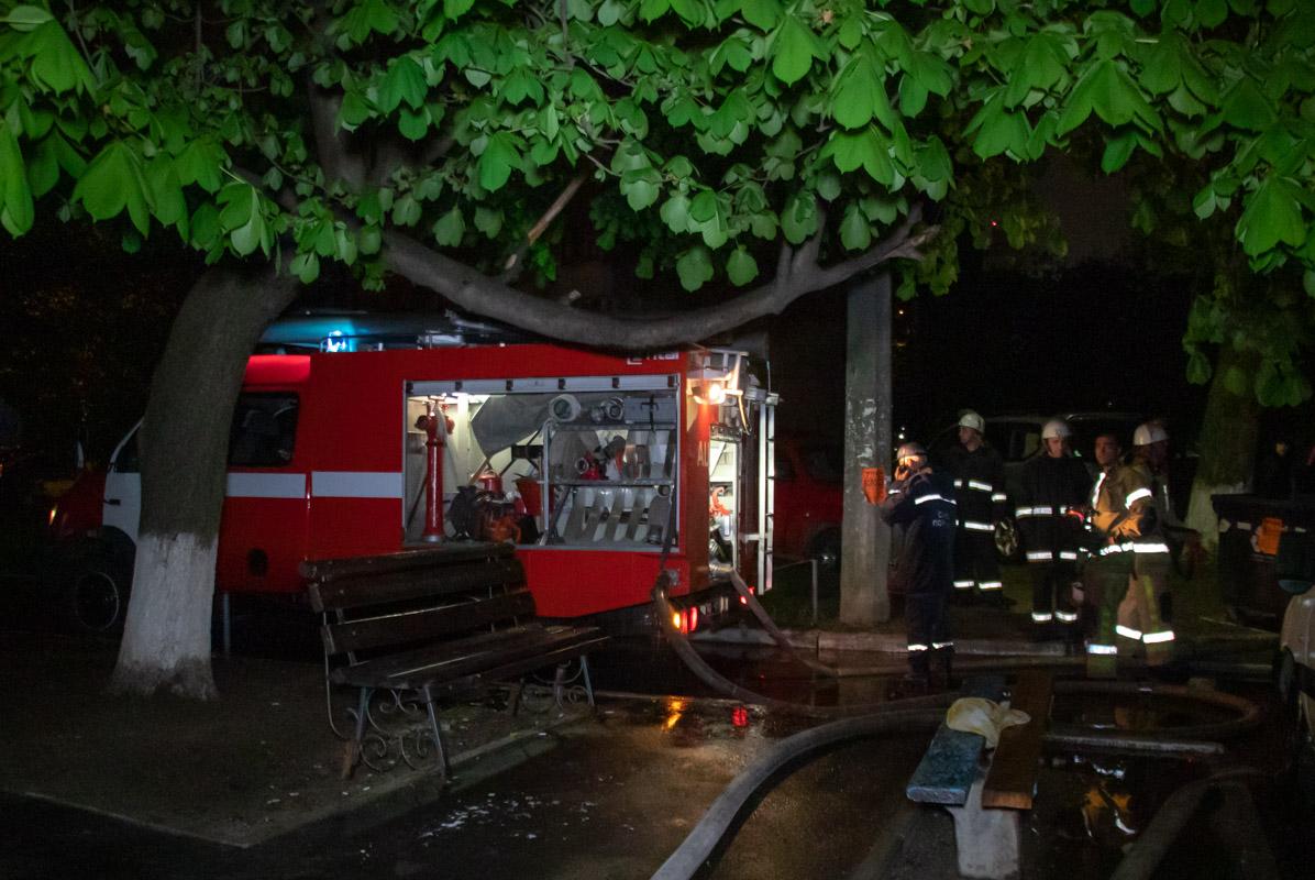 В ночь на 30 апреля по адресу улица Маршала Якубовского, 7 произошел пожар