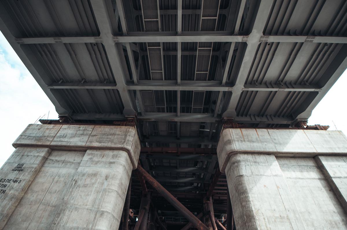 """Кличко пообещал, что уже летом мост будет выглядеть """"совсем по-другому"""""""