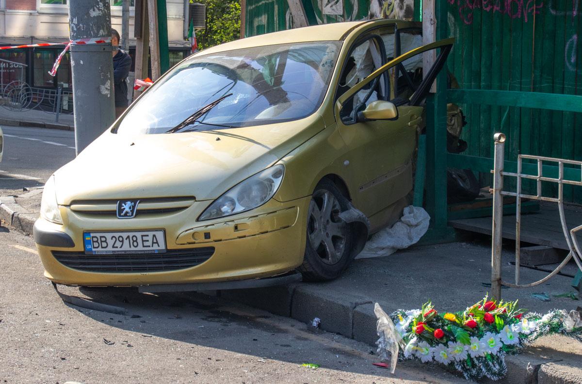 На перекрестке Саксаганского и Владимирской произошло ДТП с пострадавшими