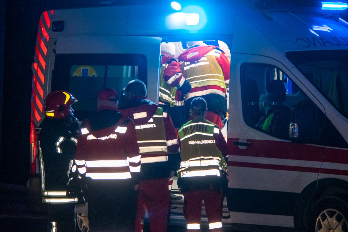 Одной из пострадавших оторвало ногу