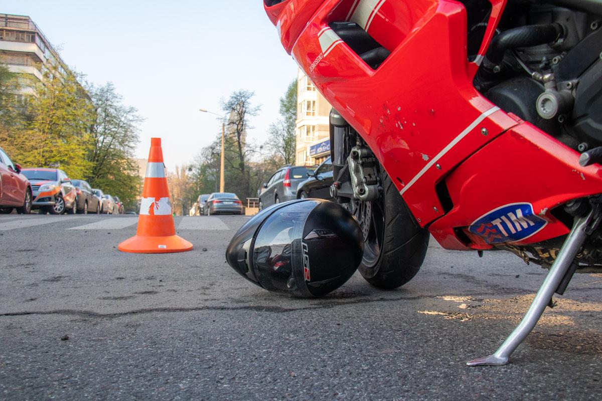 К счастью, водитель получил незначительные травмы