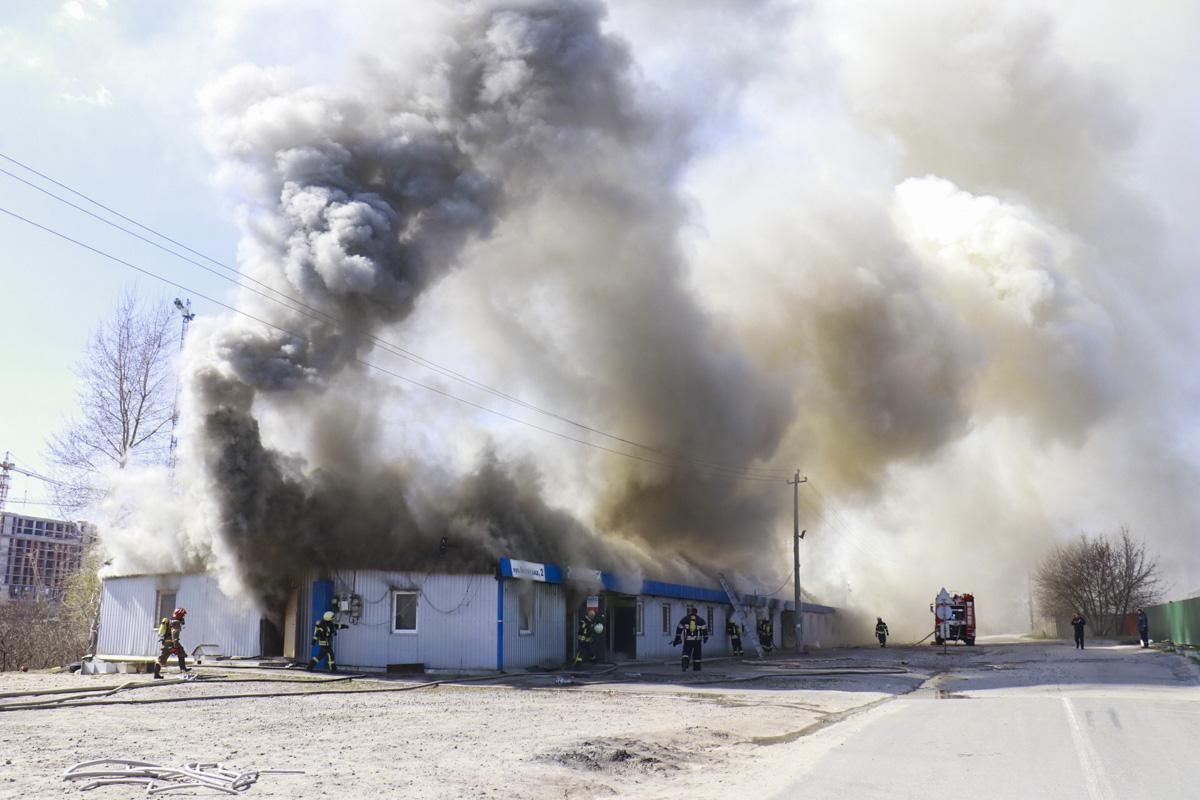 Предварительно, в пожаре никто не пострадал
