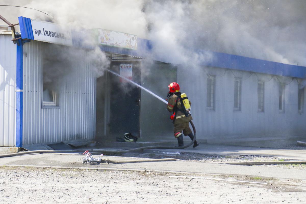 Причины возгорания установит следствие