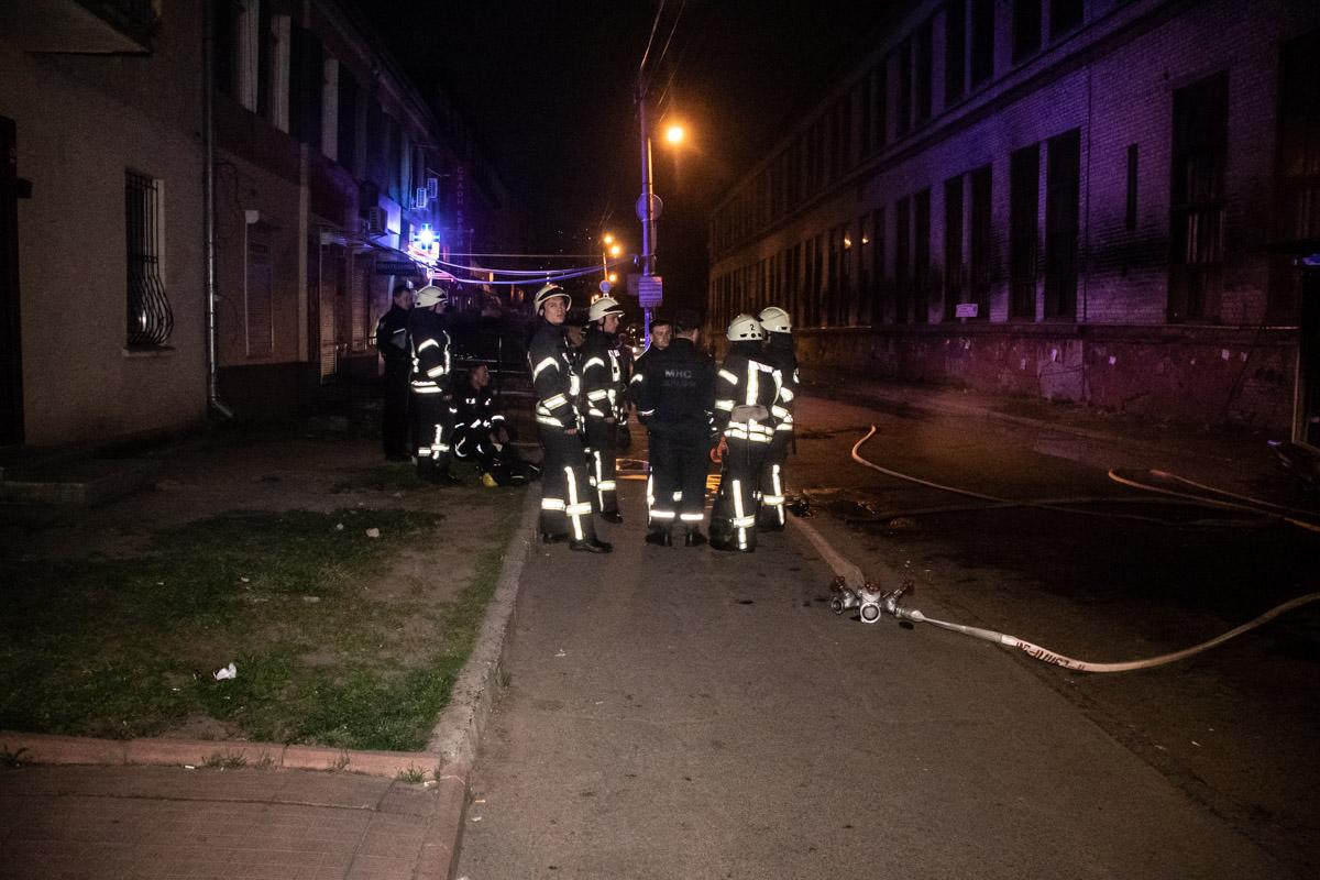В ликвидации задействовали три единицы пожарной техники