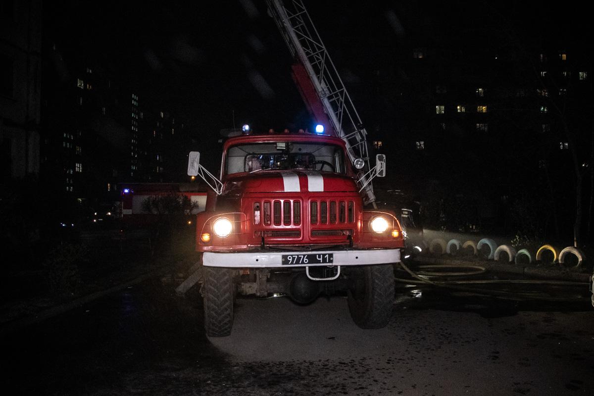 Площадь пожара составила 20 квадратных метров