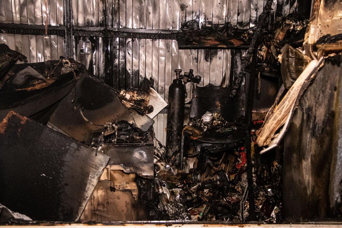 Спасатели оперативно справились с огнем