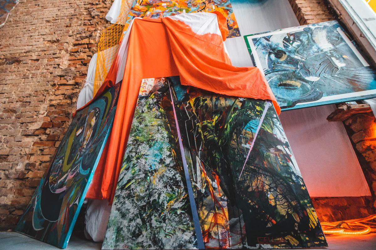 9 молодых художников представляют свои работы