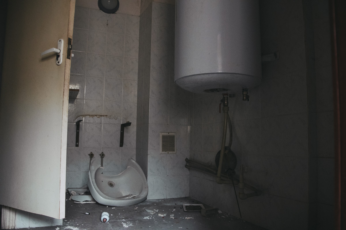 Садик отключен от водоснабжения