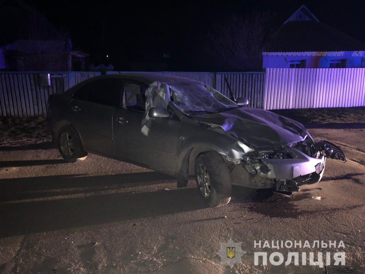 ВодительMazda сбил девушек-пешеходов и сбежал с места ДТП