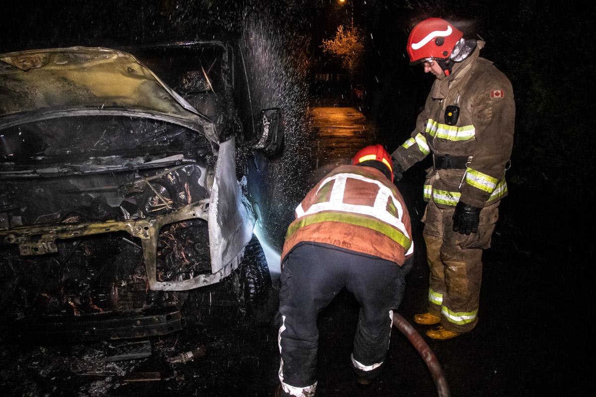 На полную ликвидацию возгорания у пожарных ушло около 20 минут
