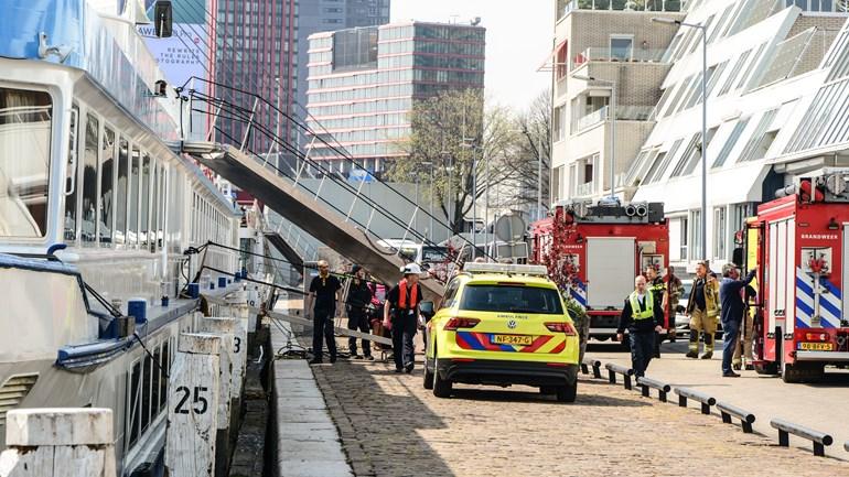 В Нидерландах круизный лайнер столкнулся с кораблем
