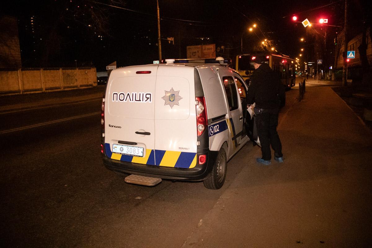Нападавших разыскивает полиция