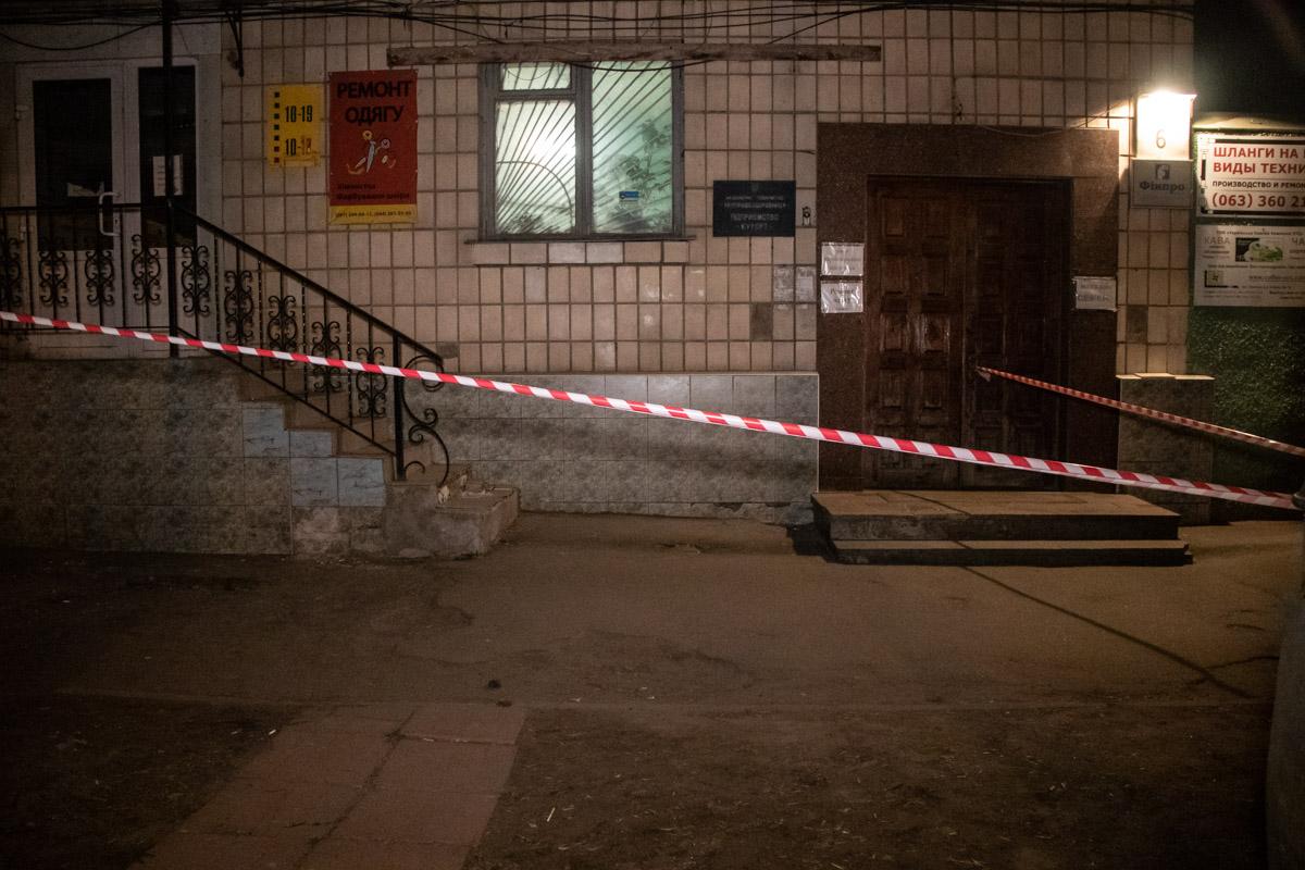В Голосеевском районе Киева произошла стрельба
