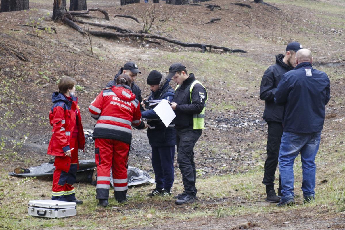 16 апреля в Киеве недалеко от перекрестка улиц Кубанской Украины и Академика Курчатова обнаружили труп мужчины