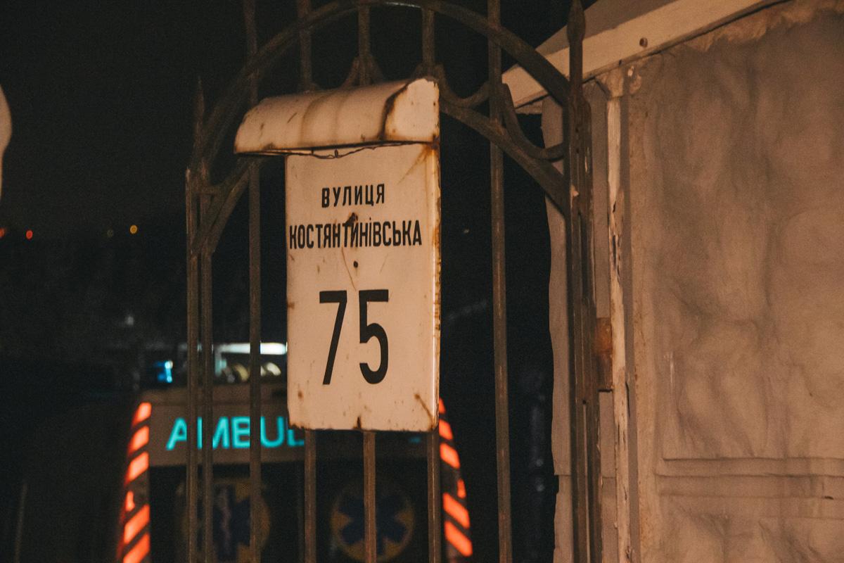 В среду, 10 апреля, в Киеве на Подоле произошел трагический инцидент