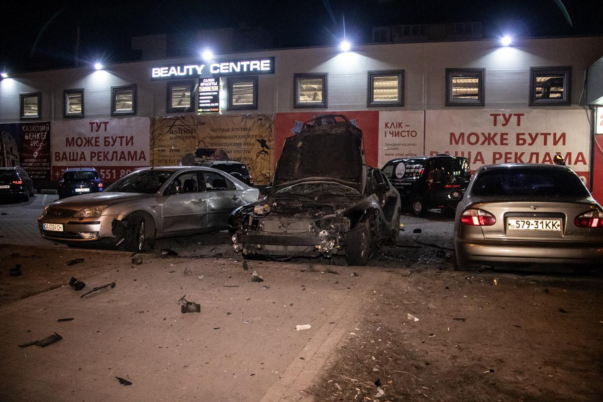 Предвыборный взрыв: покушение наофицера СБУ вКиеве