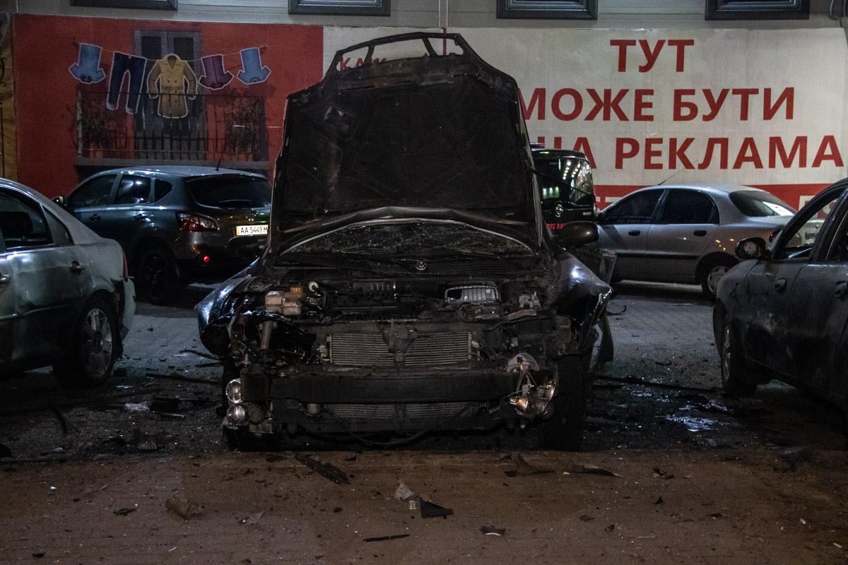 По словам очевидцев, взрыв был очень сильный