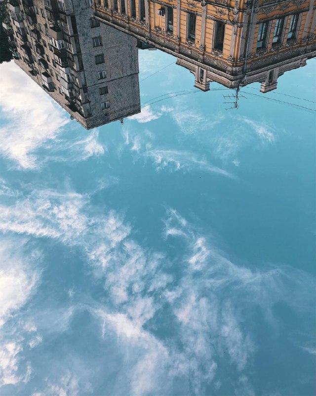 Небесное море на Подоле. Фото: @anastasiazi