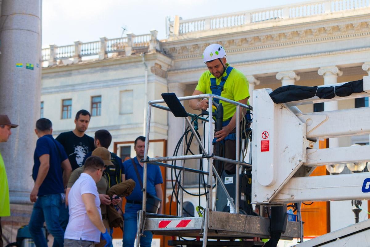 В четверг, 23 мая, в центре Киева прошла акция под названием Clean Day