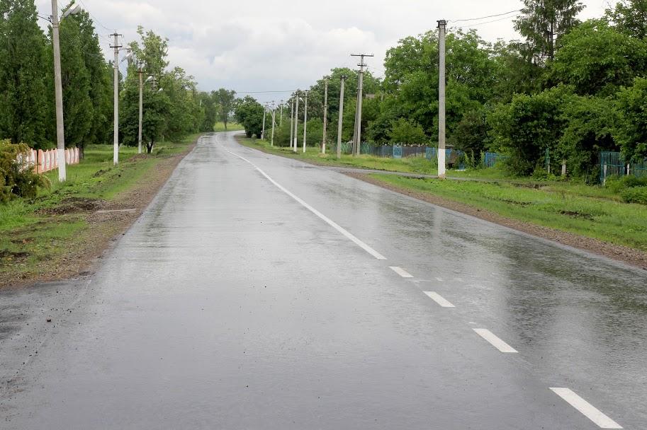 Теперь с качественным покрытием - 6 км автодороги между селами Александрия и Тихий став