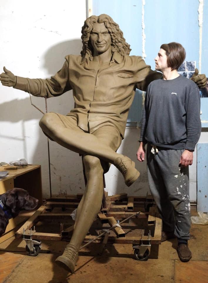 Предыдущая версия скульптуры
