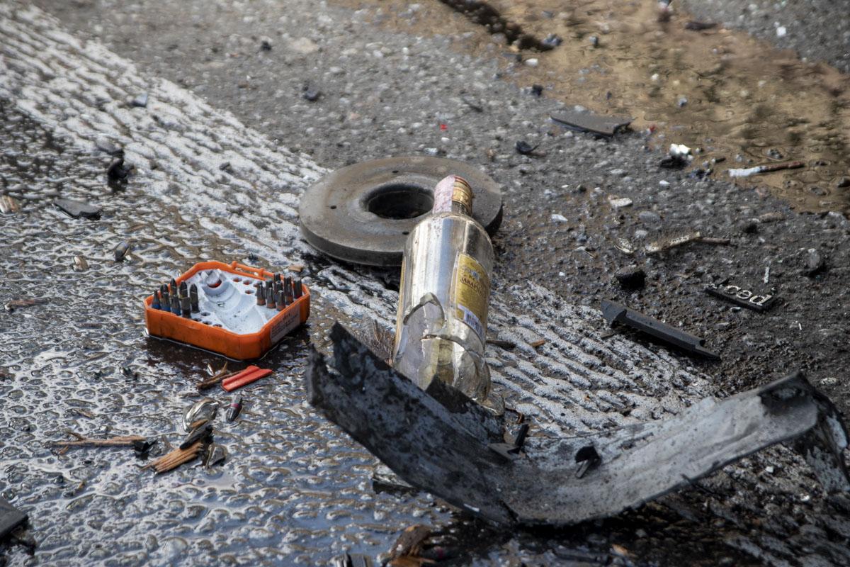 По словам патрульных, водитель внедорожника был пьян