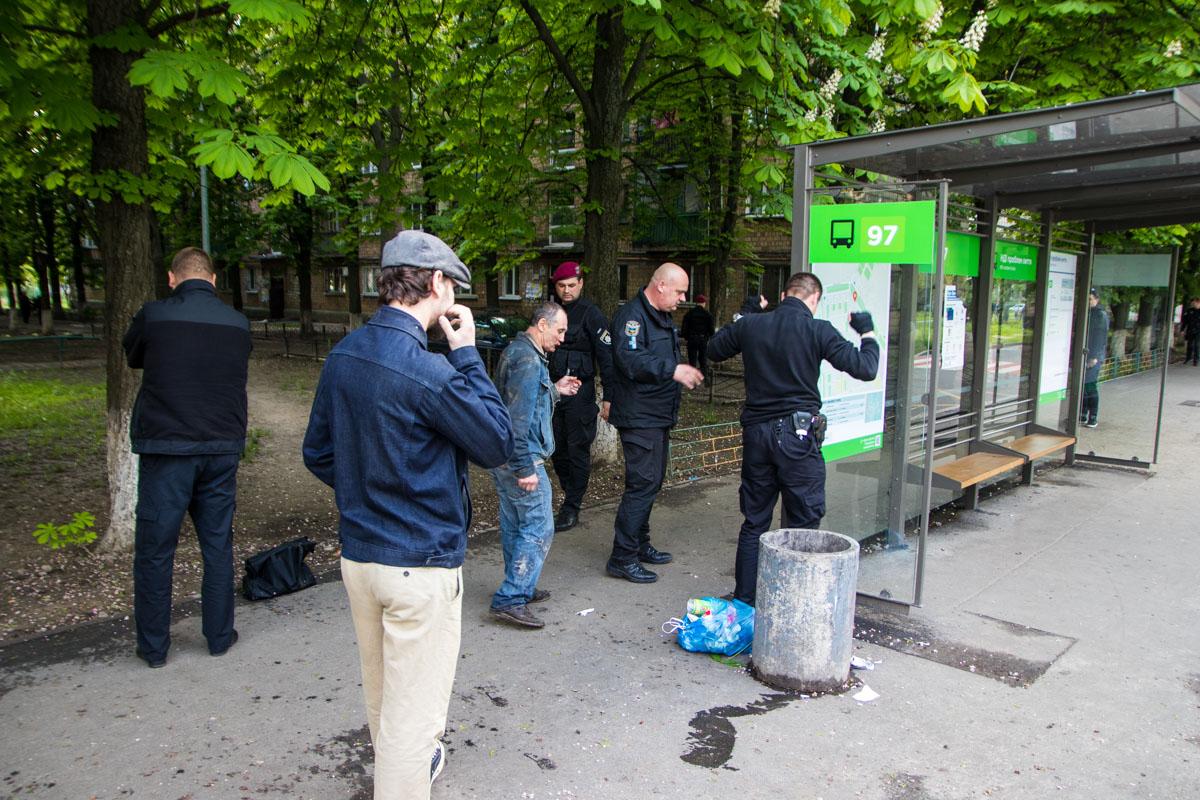 11 мая в Киеве по адресубульвар Академика Вернадского, 65 произошла драка