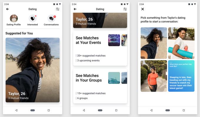 Компания тестирует функцию Facebook Dating